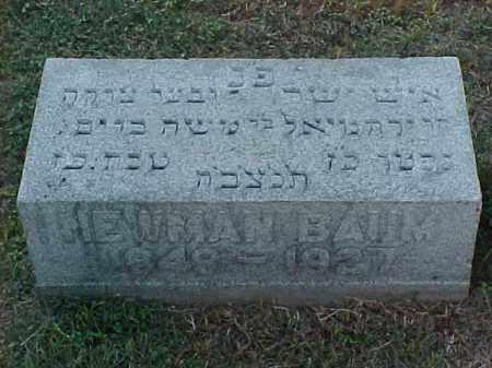 BAUM, NEWMAN - Pulaski County, Arkansas   NEWMAN BAUM - Arkansas Gravestone Photos