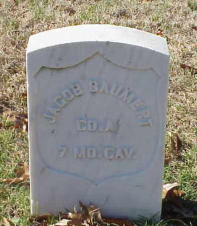 BAUMERT (VETERAN UNION), JACOB - Pulaski County, Arkansas | JACOB BAUMERT (VETERAN UNION) - Arkansas Gravestone Photos