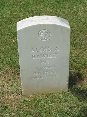 BAWIEC (VETERAN), ALOIS A - Pulaski County, Arkansas | ALOIS A BAWIEC (VETERAN) - Arkansas Gravestone Photos