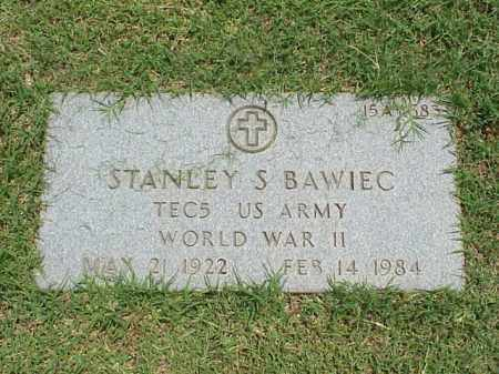 BAWIEC (VETERAN WWII), STANLEY S - Pulaski County, Arkansas | STANLEY S BAWIEC (VETERAN WWII) - Arkansas Gravestone Photos