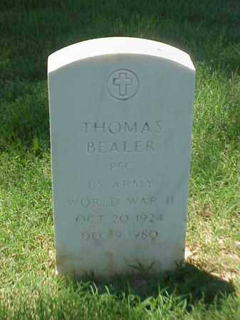 BEALER (VETERAN WWII), THOMAS - Pulaski County, Arkansas | THOMAS BEALER (VETERAN WWII) - Arkansas Gravestone Photos