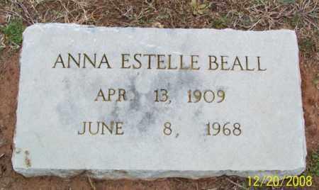 BEALL, ANNA ESTELLE - Pulaski County, Arkansas   ANNA ESTELLE BEALL - Arkansas Gravestone Photos