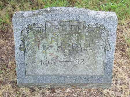 BEALL, LEE H. - Pulaski County, Arkansas | LEE H. BEALL - Arkansas Gravestone Photos