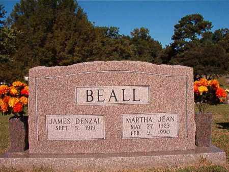 BEALL, MARTHA JEAN - Pulaski County, Arkansas   MARTHA JEAN BEALL - Arkansas Gravestone Photos