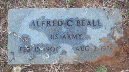 BEALL (VETERAN), ALFRED C - Pulaski County, Arkansas | ALFRED C BEALL (VETERAN) - Arkansas Gravestone Photos