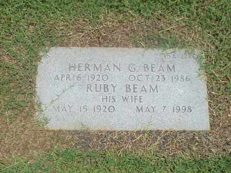 BEAM, RUBY - Pulaski County, Arkansas | RUBY BEAM - Arkansas Gravestone Photos