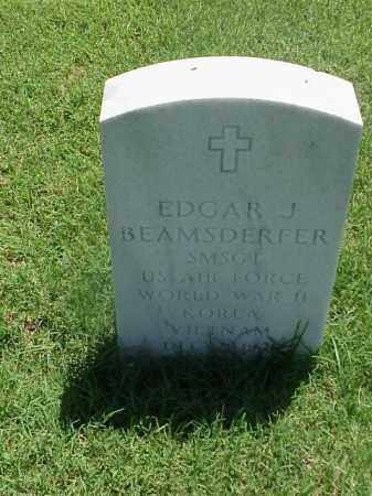 BEAMSDERFER (VETERAN 3 WARS), EDGAR J - Pulaski County, Arkansas | EDGAR J BEAMSDERFER (VETERAN 3 WARS) - Arkansas Gravestone Photos