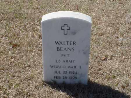 BEANS (VETERAN WWII), WALTER - Pulaski County, Arkansas | WALTER BEANS (VETERAN WWII) - Arkansas Gravestone Photos