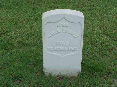 BEARD (VETERAN UNION), WILLIAM E - Pulaski County, Arkansas | WILLIAM E BEARD (VETERAN UNION) - Arkansas Gravestone Photos