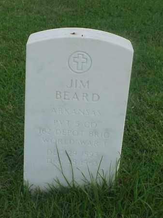 BEARD (VETERAN WWI), JIM - Pulaski County, Arkansas | JIM BEARD (VETERAN WWI) - Arkansas Gravestone Photos