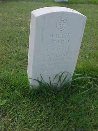 BEARD (VETERAN WWI), WILLIE - Pulaski County, Arkansas | WILLIE BEARD (VETERAN WWI) - Arkansas Gravestone Photos