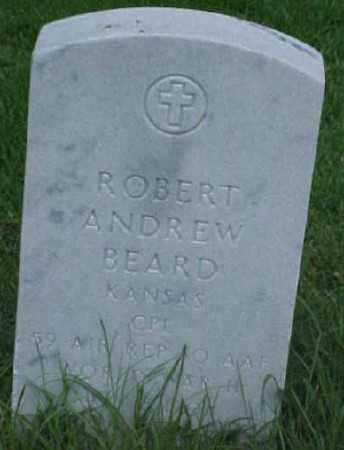 BEARD (VETERAN WWII), ROBERT ANDREW - Pulaski County, Arkansas | ROBERT ANDREW BEARD (VETERAN WWII) - Arkansas Gravestone Photos