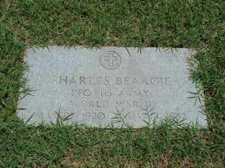 BEARGIE (VETERAN WWII), CHARLES - Pulaski County, Arkansas | CHARLES BEARGIE (VETERAN WWII) - Arkansas Gravestone Photos