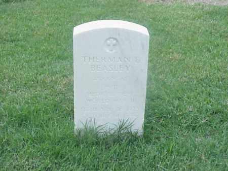 BEASLEY (VETERAN WWII), THERMAN E - Pulaski County, Arkansas | THERMAN E BEASLEY (VETERAN WWII) - Arkansas Gravestone Photos