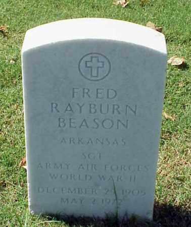 BEASON (VETERAN WWII), FRED RAYBURN - Pulaski County, Arkansas | FRED RAYBURN BEASON (VETERAN WWII) - Arkansas Gravestone Photos