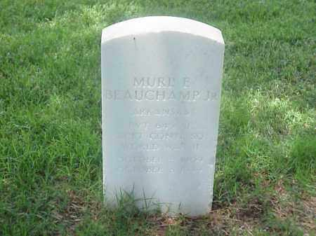 BEAUCHAMP JR (VETERAN WWII), MURL E - Pulaski County, Arkansas | MURL E BEAUCHAMP JR (VETERAN WWII) - Arkansas Gravestone Photos