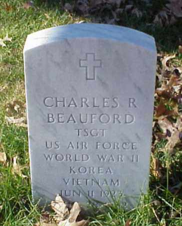 BEAUFORD (VETERAN 3WARS), CHARLES R - Pulaski County, Arkansas | CHARLES R BEAUFORD (VETERAN 3WARS) - Arkansas Gravestone Photos