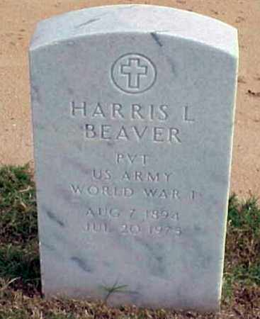 BEAVER (VETERAN WWI), HARRIS L - Pulaski County, Arkansas | HARRIS L BEAVER (VETERAN WWI) - Arkansas Gravestone Photos