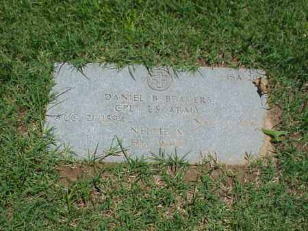 BEAVERS (VETERAN), DANIEL B - Pulaski County, Arkansas | DANIEL B BEAVERS (VETERAN) - Arkansas Gravestone Photos