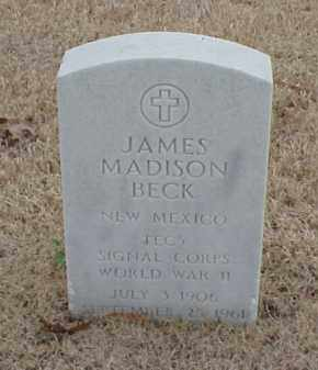 BECK  (VETERAN WWII), JAMES MADISON - Pulaski County, Arkansas | JAMES MADISON BECK  (VETERAN WWII) - Arkansas Gravestone Photos