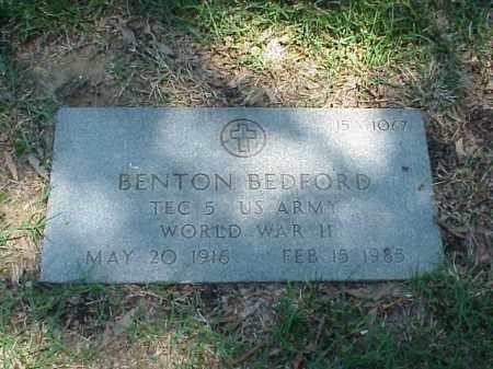 BEDFORD (VETERAN WWII), BENTON - Pulaski County, Arkansas | BENTON BEDFORD (VETERAN WWII) - Arkansas Gravestone Photos