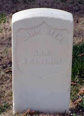 BEEN (VETERAN UNION), LANK - Pulaski County, Arkansas | LANK BEEN (VETERAN UNION) - Arkansas Gravestone Photos