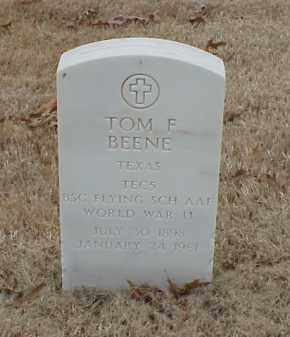 BEENE  (VETERAN WWII), TOM F - Pulaski County, Arkansas | TOM F BEENE  (VETERAN WWII) - Arkansas Gravestone Photos