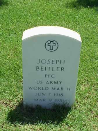 BEITLER (VETERAN WWII), JOSEPH - Pulaski County, Arkansas | JOSEPH BEITLER (VETERAN WWII) - Arkansas Gravestone Photos
