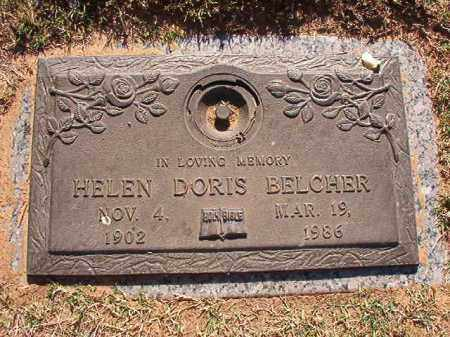 BELCHER, HELEN DORIS - Pulaski County, Arkansas | HELEN DORIS BELCHER - Arkansas Gravestone Photos