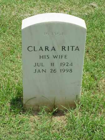 BELL, CLARA RITA - Pulaski County, Arkansas | CLARA RITA BELL - Arkansas Gravestone Photos