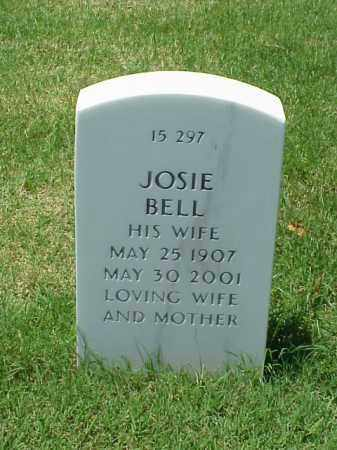 BELL, JOSIE - Pulaski County, Arkansas | JOSIE BELL - Arkansas Gravestone Photos