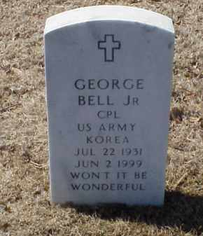 BELL, JR (VETERAN KOR), GEORGE - Pulaski County, Arkansas | GEORGE BELL, JR (VETERAN KOR) - Arkansas Gravestone Photos