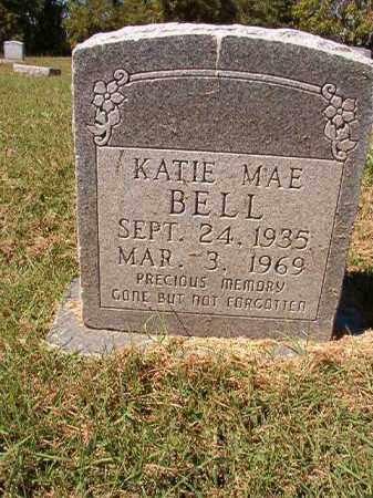 BELL, KATIE MAE - Pulaski County, Arkansas | KATIE MAE BELL - Arkansas Gravestone Photos