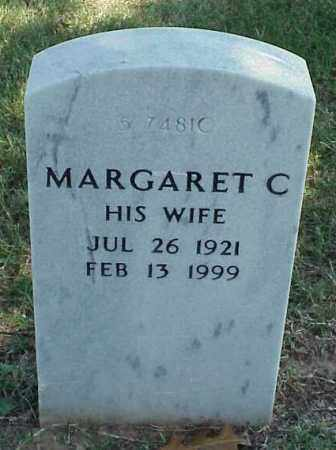 BELL, MARGARET C - Pulaski County, Arkansas | MARGARET C BELL - Arkansas Gravestone Photos
