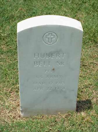BELL, SR (VETERAN), HUBERT - Pulaski County, Arkansas | HUBERT BELL, SR (VETERAN) - Arkansas Gravestone Photos