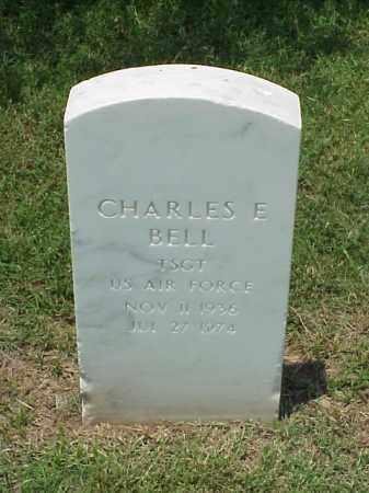 BELL (VETERAN), CHARLES E - Pulaski County, Arkansas | CHARLES E BELL (VETERAN) - Arkansas Gravestone Photos