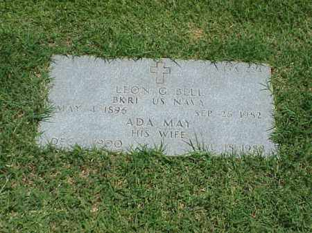 BELL (VETERAN), LEON G - Pulaski County, Arkansas | LEON G BELL (VETERAN) - Arkansas Gravestone Photos
