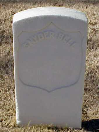 BELL (VETERAN UNION), SNYDER - Pulaski County, Arkansas | SNYDER BELL (VETERAN UNION) - Arkansas Gravestone Photos