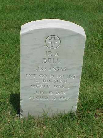 BELL (VETERAN WWI), IRA - Pulaski County, Arkansas | IRA BELL (VETERAN WWI) - Arkansas Gravestone Photos