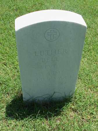 BELL (VETERAN WWI), LUTHER - Pulaski County, Arkansas | LUTHER BELL (VETERAN WWI) - Arkansas Gravestone Photos
