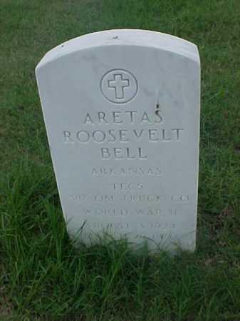 BELL (VETERAN WWII), ARETAS ROOSEVELT - Pulaski County, Arkansas | ARETAS ROOSEVELT BELL (VETERAN WWII) - Arkansas Gravestone Photos