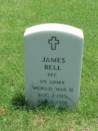 BELL (VETERAN WWII), JAMES - Pulaski County, Arkansas | JAMES BELL (VETERAN WWII) - Arkansas Gravestone Photos