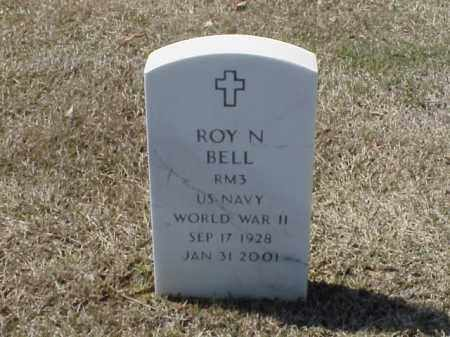 BELL (VETERAN WWII), ROY N - Pulaski County, Arkansas | ROY N BELL (VETERAN WWII) - Arkansas Gravestone Photos