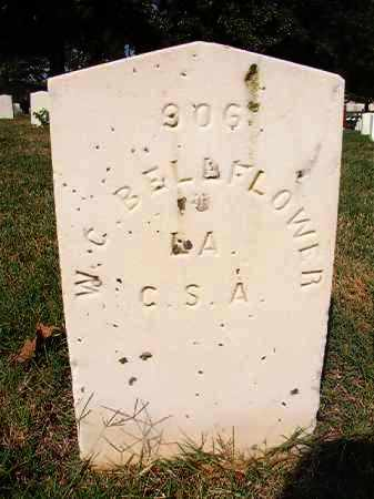 BELLFLOWER (VETERAN CSA), W C - Pulaski County, Arkansas | W C BELLFLOWER (VETERAN CSA) - Arkansas Gravestone Photos