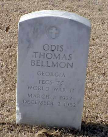 BELLMON (VETERAN WWII), ODIS THOMAS - Pulaski County, Arkansas | ODIS THOMAS BELLMON (VETERAN WWII) - Arkansas Gravestone Photos