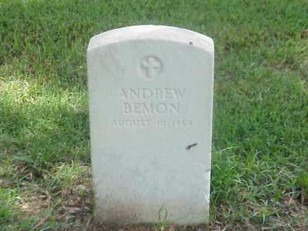 BEMON (VETERAN UNION), ANDREW - Pulaski County, Arkansas | ANDREW BEMON (VETERAN UNION) - Arkansas Gravestone Photos