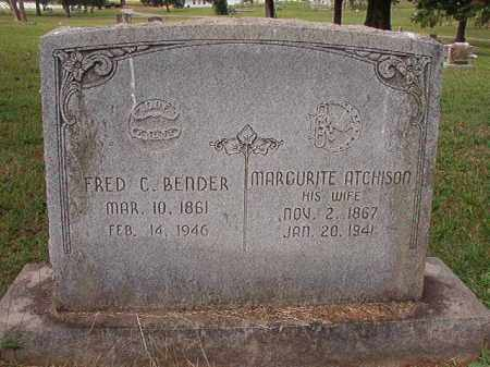 BENDER, MARGURITE - Pulaski County, Arkansas | MARGURITE BENDER - Arkansas Gravestone Photos