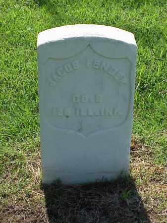 FENDER (VETERAN UNION), JACOB - Pulaski County, Arkansas | JACOB FENDER (VETERAN UNION) - Arkansas Gravestone Photos