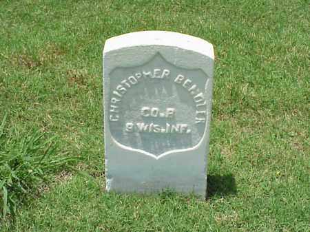 BENDLER (VETERAN UNION), CHRISTOPHER - Pulaski County, Arkansas | CHRISTOPHER BENDLER (VETERAN UNION) - Arkansas Gravestone Photos