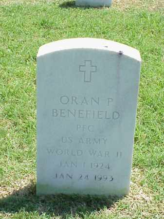BENEFIELD (VETERAN WWII), ORAN P - Pulaski County, Arkansas | ORAN P BENEFIELD (VETERAN WWII) - Arkansas Gravestone Photos